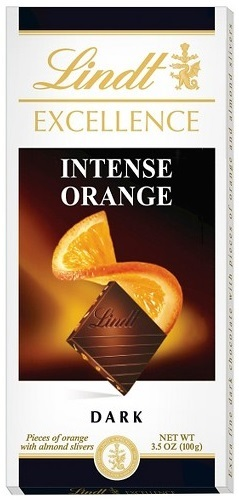 Lindt Excellence Orange Intense Portakallı Bitter Çikolata