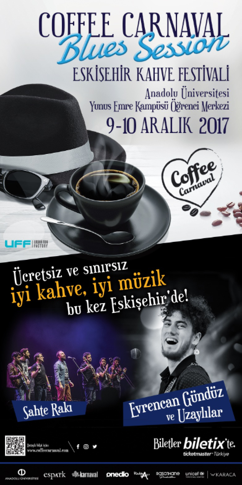 Coffee Carnaval Blues Session Bu Haftasonu