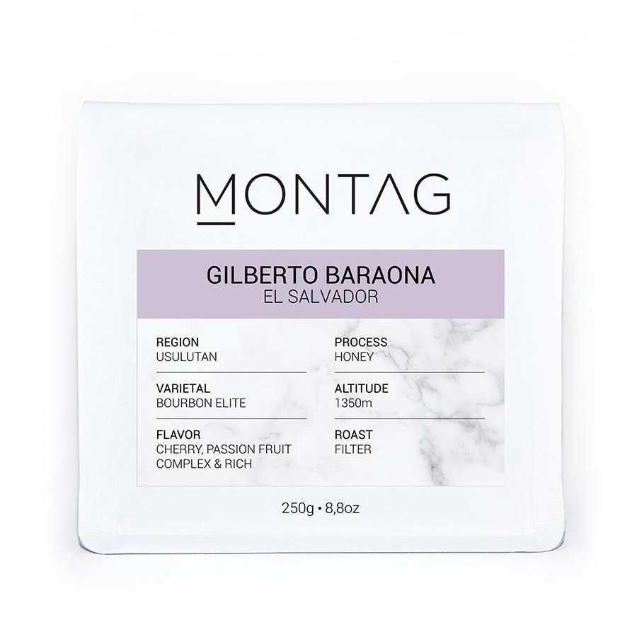 Montag - Montag El Salvador Gilberto Baraona Kahve 250 G