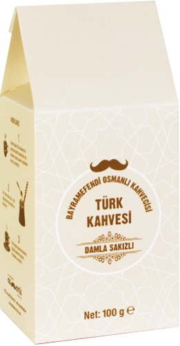 Bayramefendi Osmanlı Kahvecisi - Bayramefendi Osmanlı Kahvecisi Damla Sakızlı Türk Kahvesi 100 G