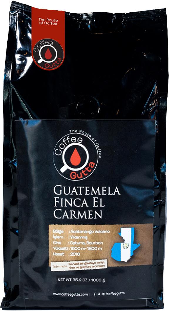 Coffee Gutta - Coffee Gutta Guatemela Finca El Carmen Kahve 1000 G