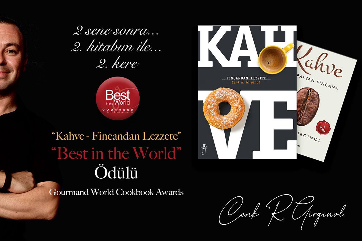 Dünyanın En İyi Kahve Kitabı 2. Kez Türkiye'den