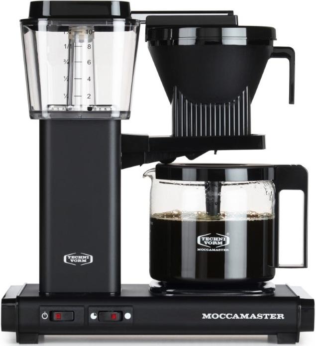Moccamaster - Moccamaster KBG 741 AO Filtre Kahve Makinesi Mat Siyah