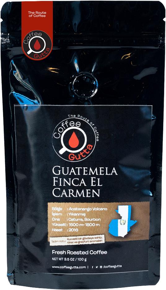 Coffee Gutta - Coffee Gutta Guatemela Finca El Carmen Kahve 100 G