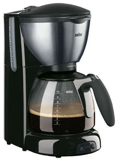 Braun - Braun CafeHouse Pure Aroma Deluxe KF570 Filtre Kahve Makinesi