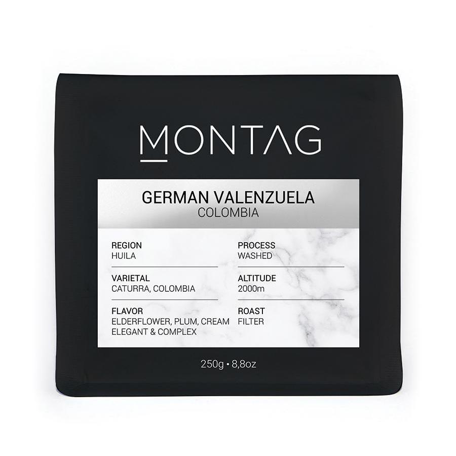 Montag - Montag Colombia German Valenzuela Kahve 250 G