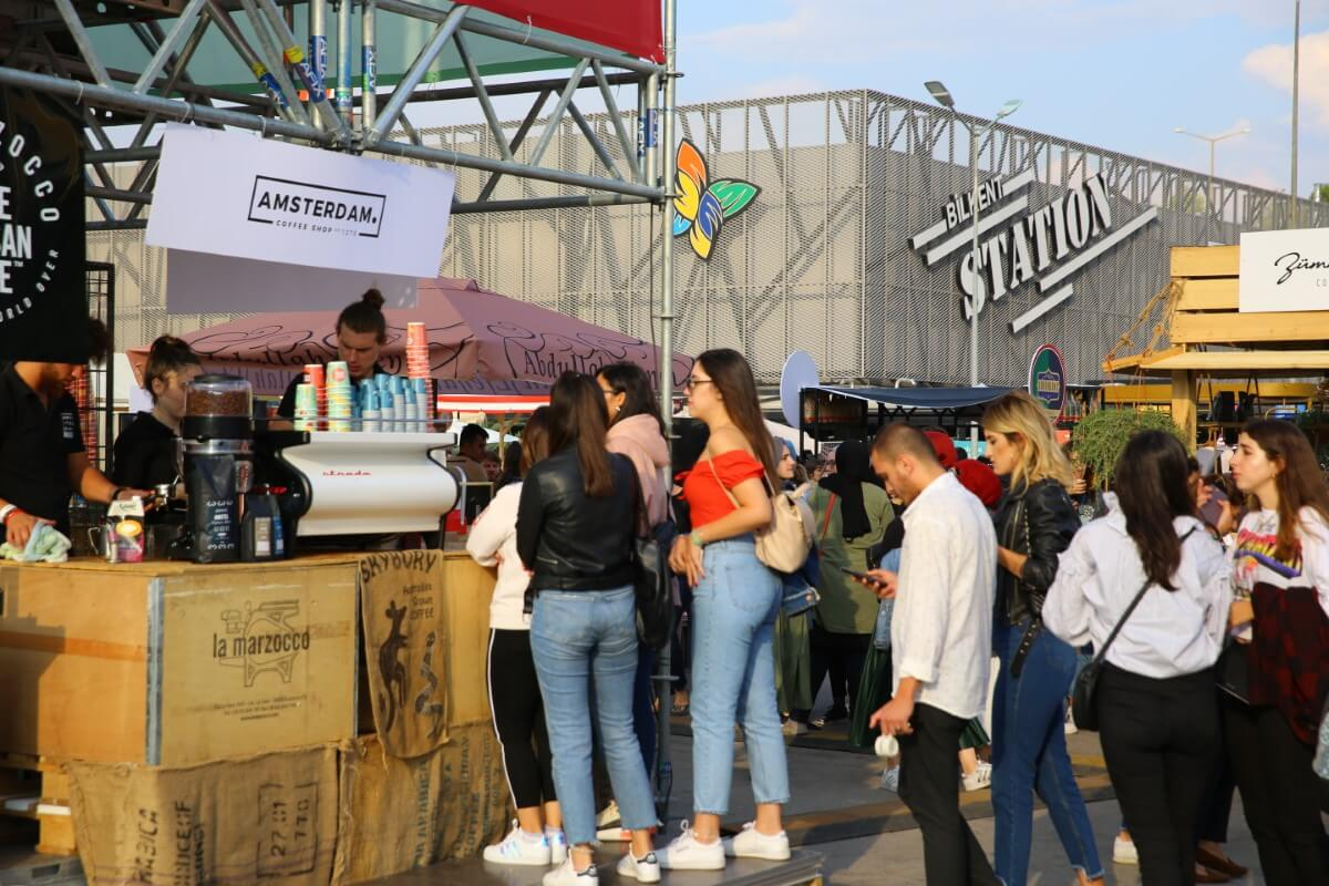 Ankara Coffee Festival'de 30 Bin Üzeri Kahvesever Buluştu