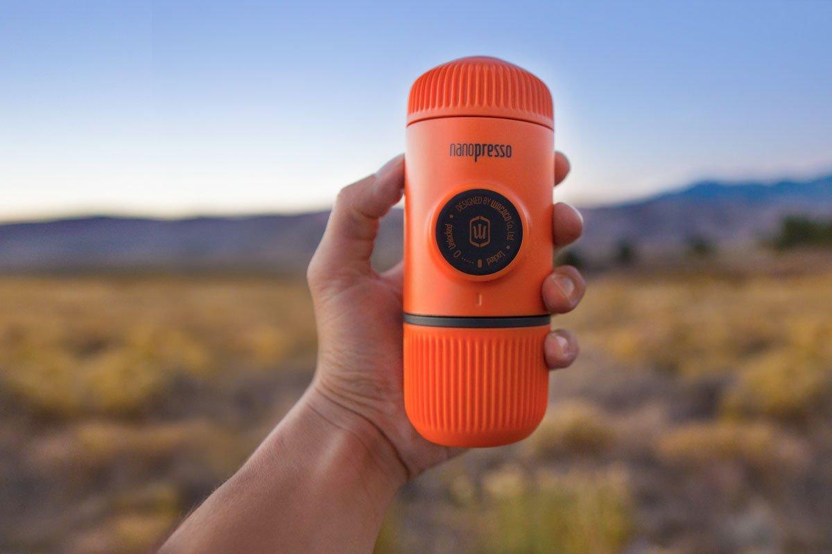 Wacaco Nanopresso Orange Patrol Taşınabilir Kahve Makinesi