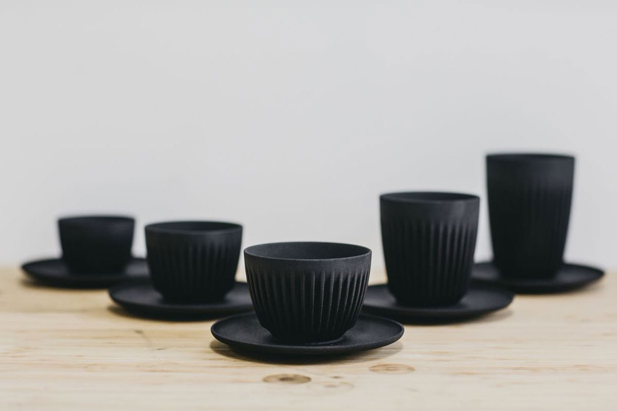 Kahve Kabuğundan Üretilen Bardaklar; HuskeeCup