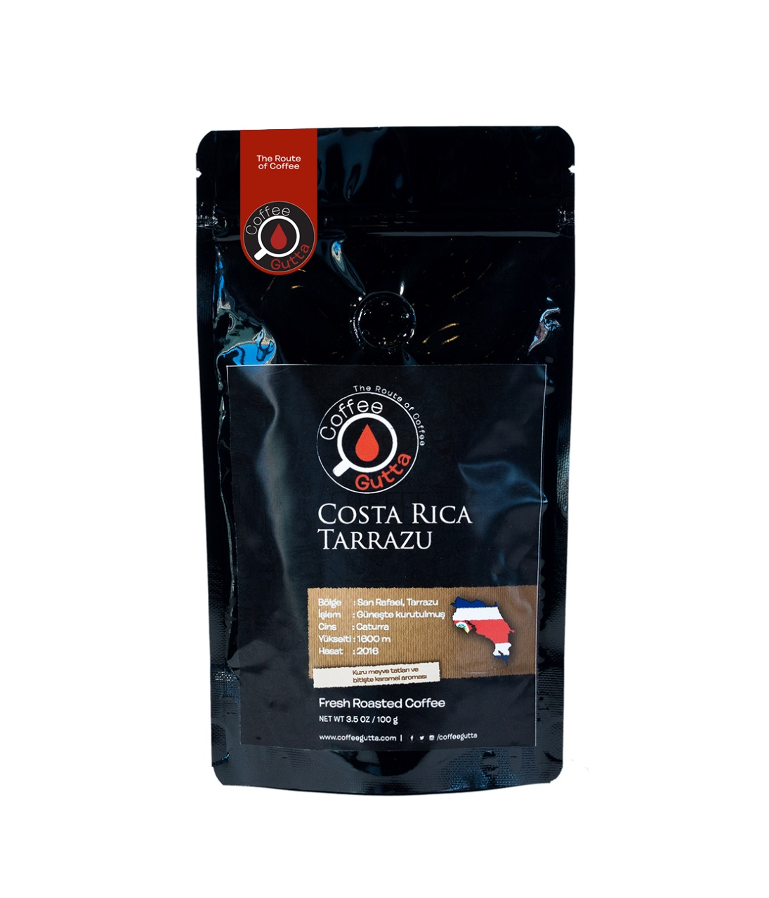Coffee Gutta Costa Rica Tarrazu Kahve 1000 G