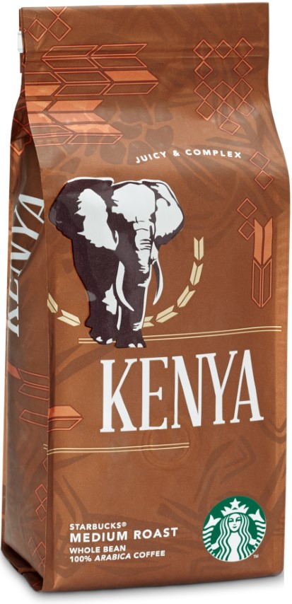Starbucks - Starbucks Kenya Medium Roast Çekirdek Kahve 250 G