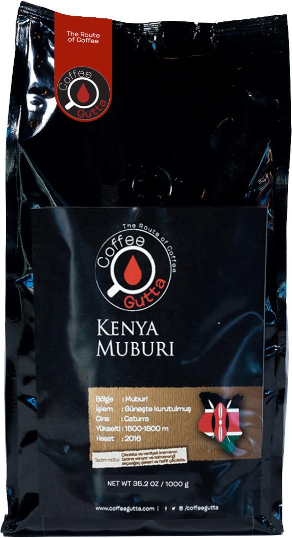 Coffee Gutta - Coffee Gutta Kenya Muburi Kahve 1000 G