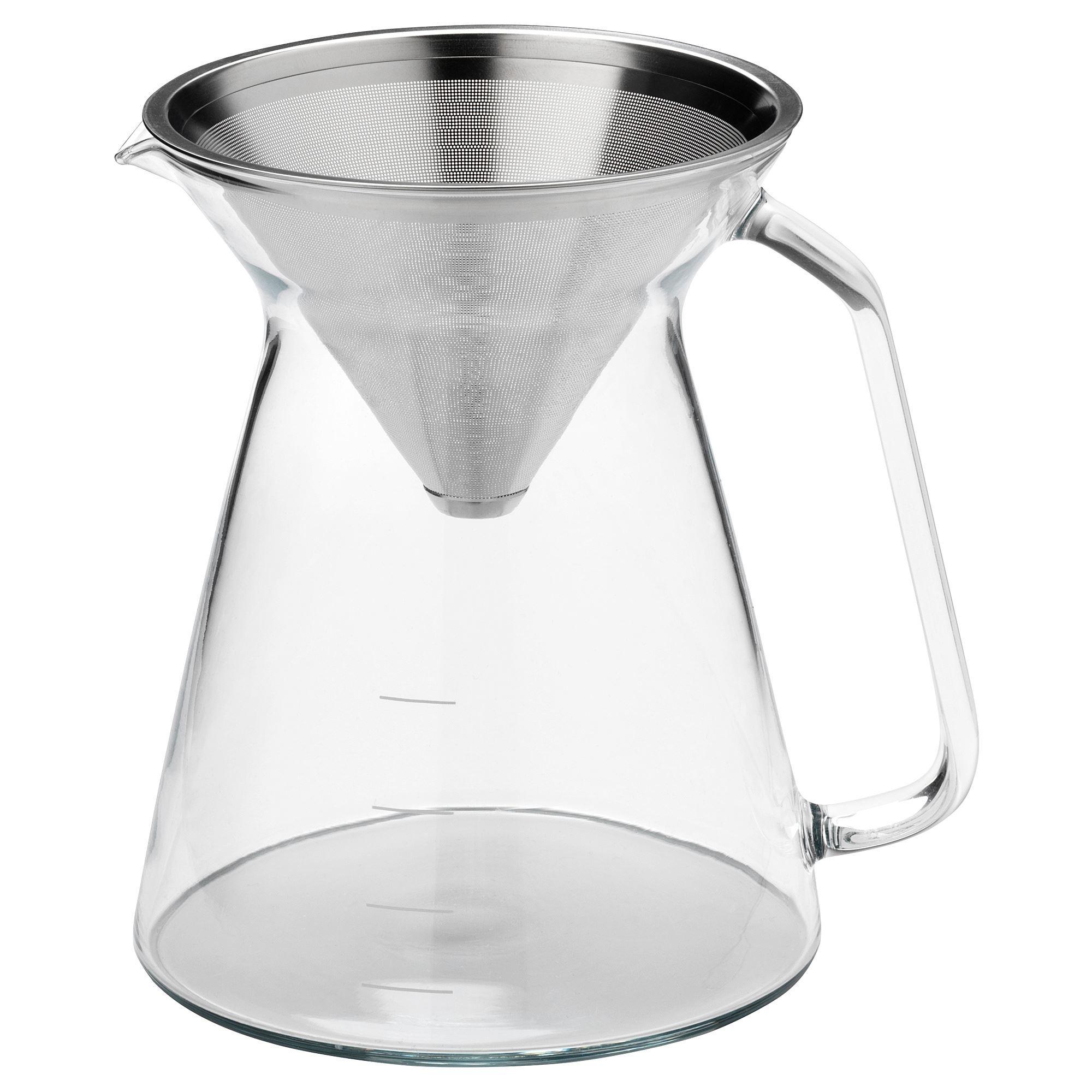 Ikea Högmodig Pour Over Kahve Demleyici