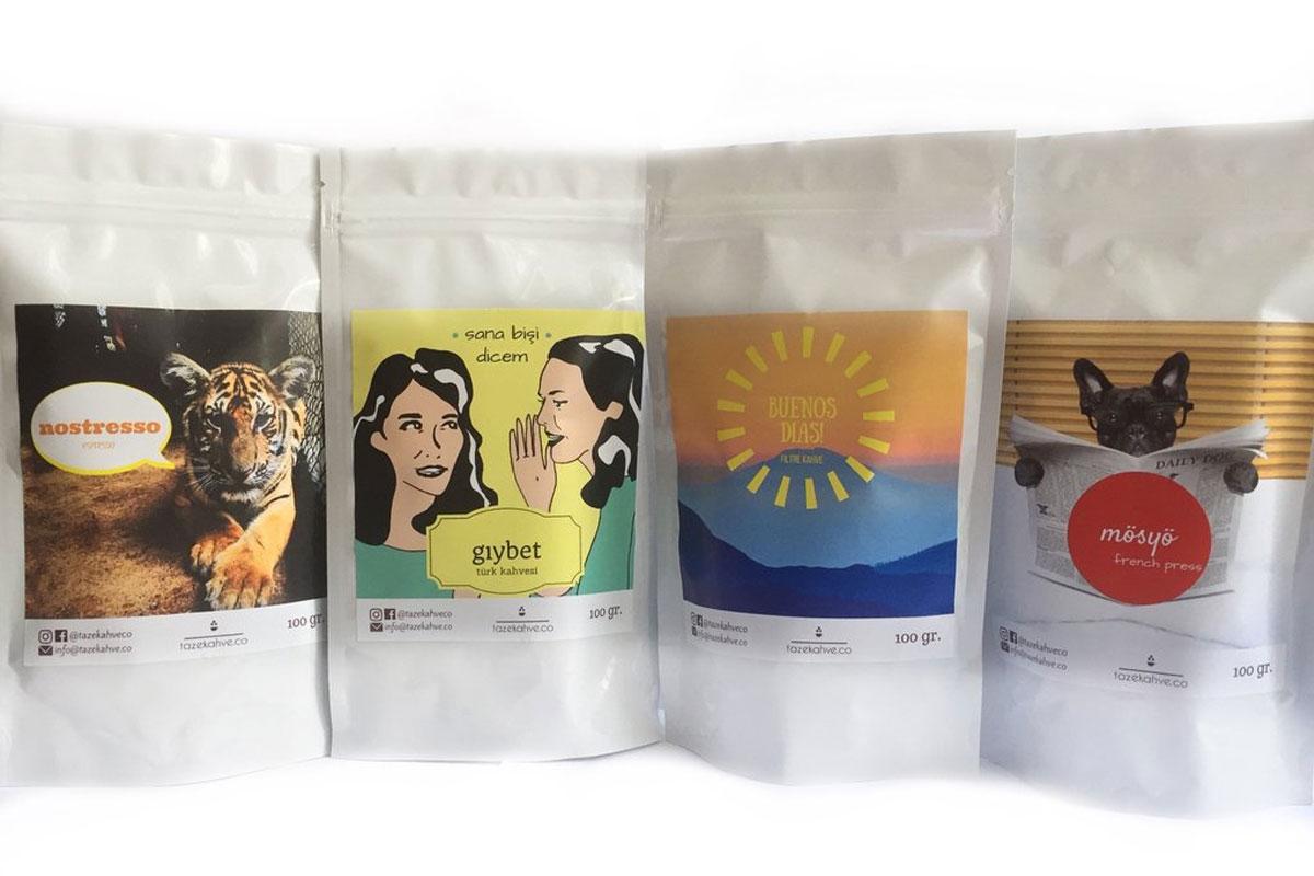Taze Kahve Çekirdeği Sipariş Edebileceğiniz Yeni Bir Platform; tazekahve.co