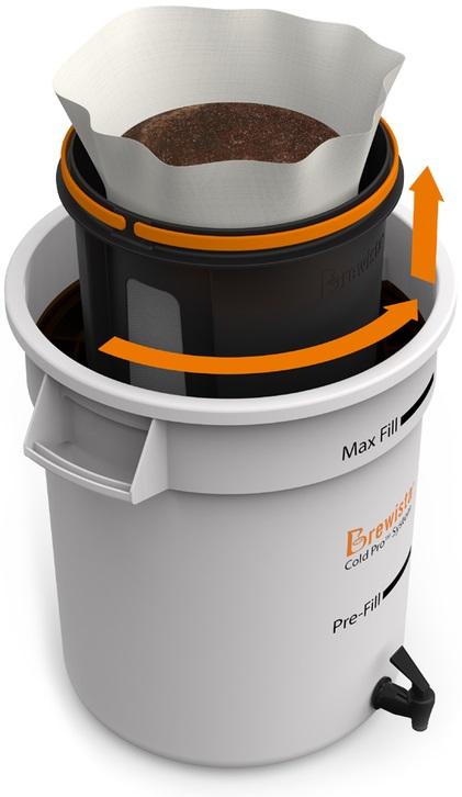 Brewista - Brewista Cold Pro Ticari Soğuk Kahve Demleme Sistemi