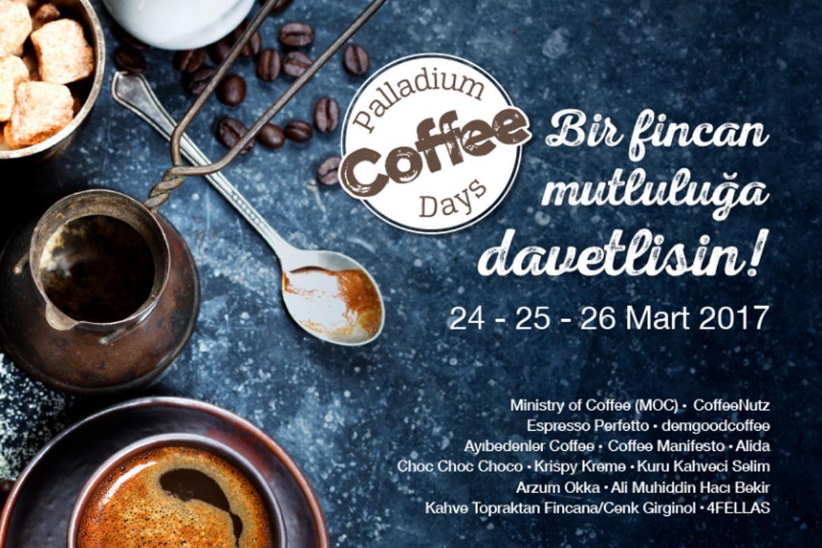 Palladium Kahve Günleri Bu Haftasonu Başlıyor!