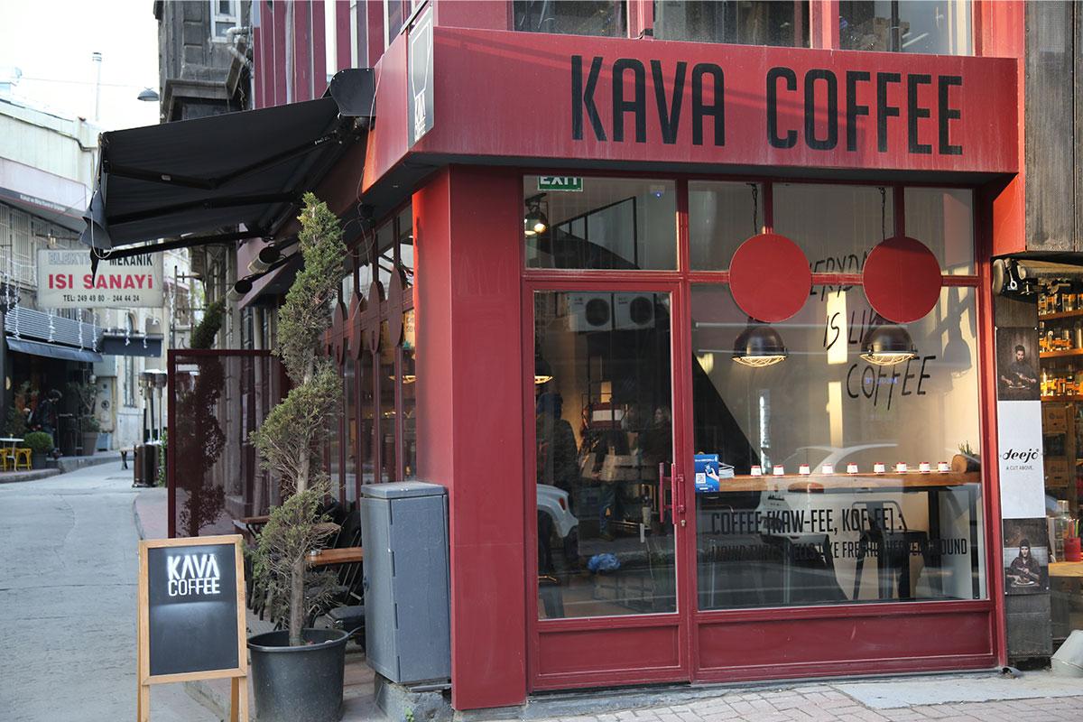 Kava Coffee Karaköy Ziyareti