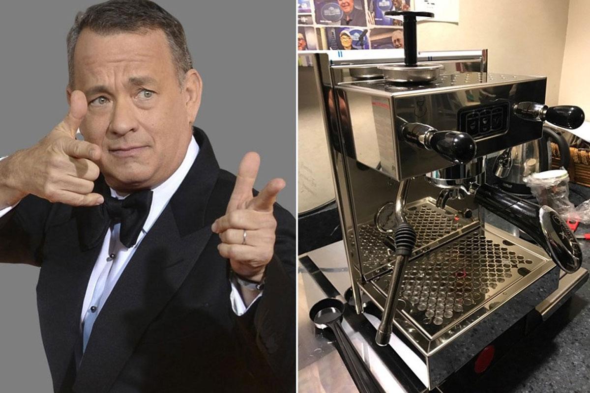 Tom Hanks, Beyaz Saray'a Kahve Makinesi Göndermiş
