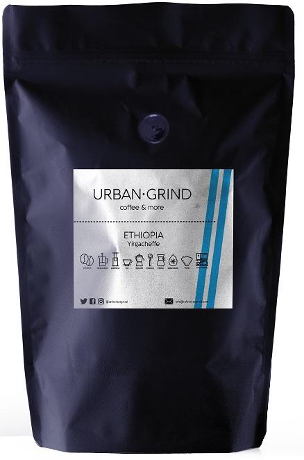 Urban Grind - Urban Grind Ethiopia Yirgacheffe Çekirdek Kahve 250 G