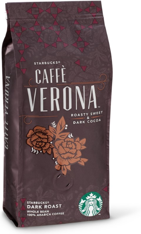 Starbucks Caffe Verona Dark Roast Çekirdek Kahve 250 G