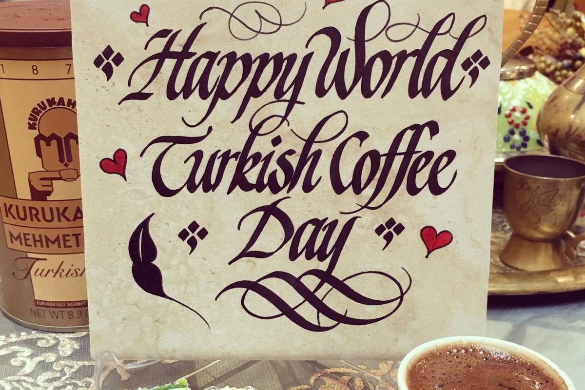 Dünya Türk Kahvesi Günü ABD'de de Kutlanacak