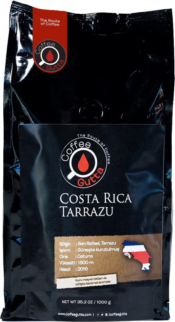 Coffee Gutta - Coffee Gutta Costa Rica Tarrazu Kahve 1000 G