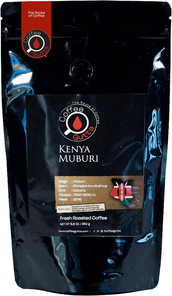 Coffee Gutta - Coffee Gutta Kenya Muburi Kahve 250 G