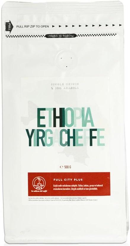 Espresso Perfetto - Espresso Perfetto Ethiopia Yirgacheffe Çekirdek Kahve 500 G