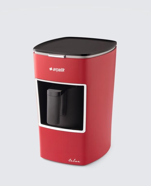 Arçelik K 3300 Kırmızı Mini Telve Türk Kahvesi Makinesi