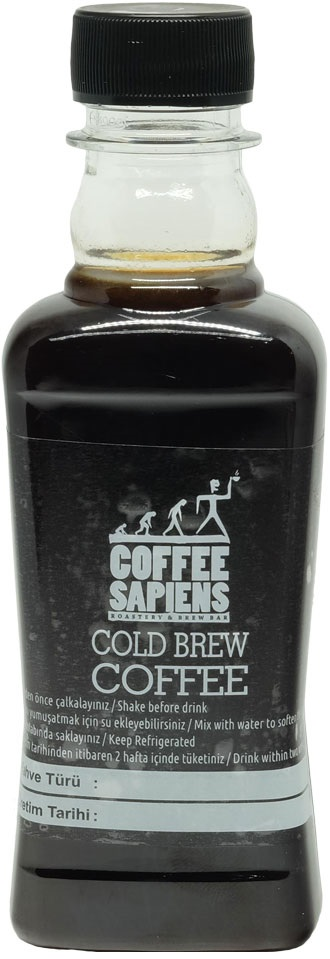 Coffee Sapiens - Coffee Sapiens Cold Brew Şişe Kahve 200 ML