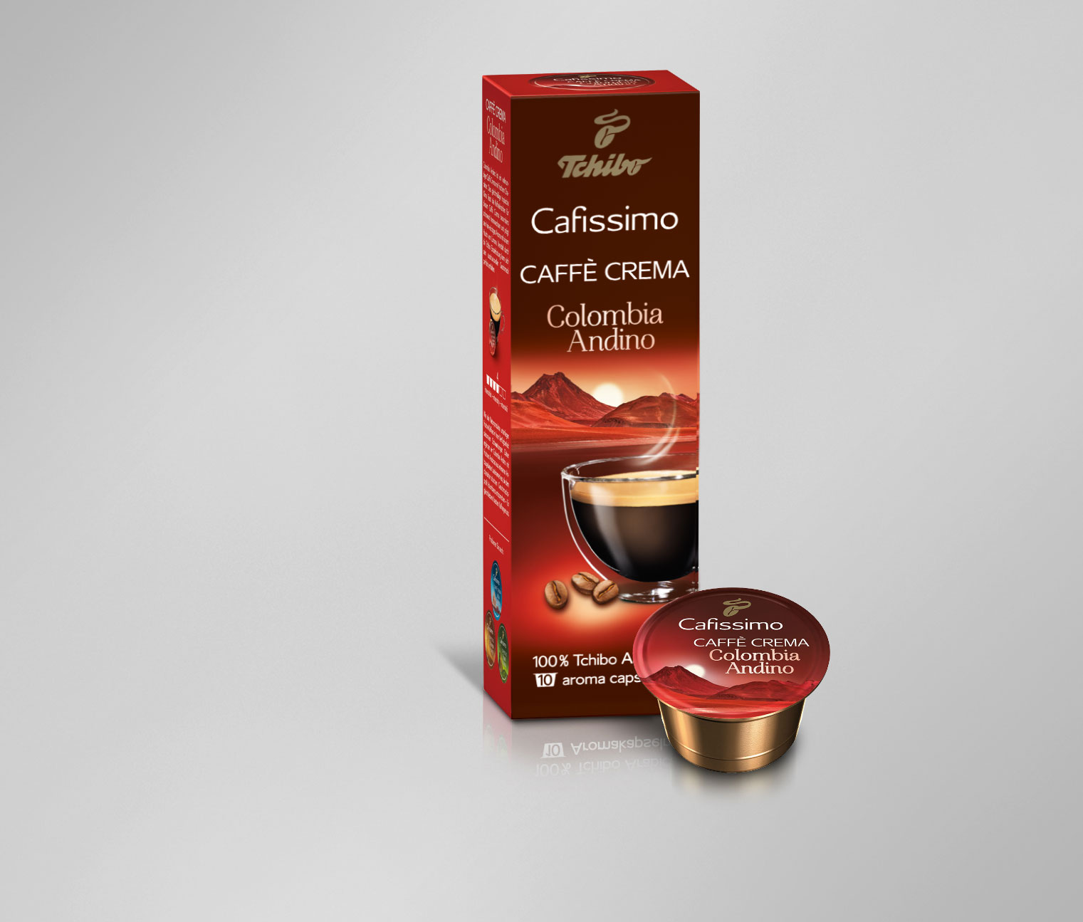 Tchibo Caffe Crema Colombia Kapsül Kahve 10 Adet
