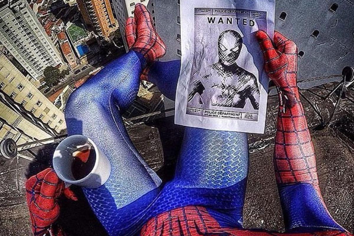 Dikkat, Örümcek Adam Çıkabilir!