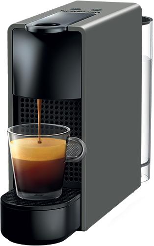 Nespresso - Nespresso Essanza Mini C Gri Kapsüllü Kahve Makinesi