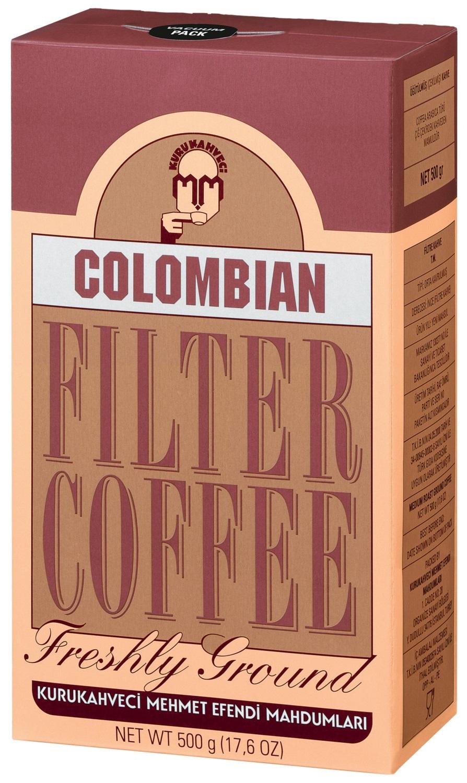 Kurukahveci Mehmet Efendi - Kurukahveci Mehmet Efendi Colombian Filtre Kahve 500 G