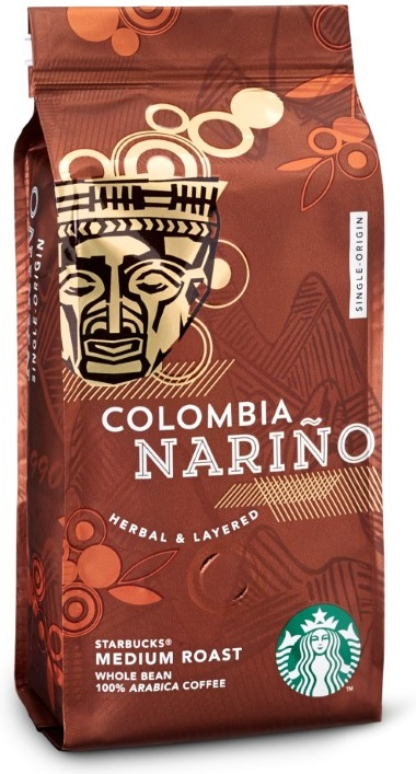 Starbucks - Starbucks Colombia Narino Medium Roast Çekirdek Kahve 250 G