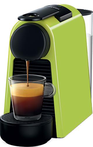 Nespresso - Nespresso Essanza Mini D Yeşil Kapsüllü Kahve Makinesi