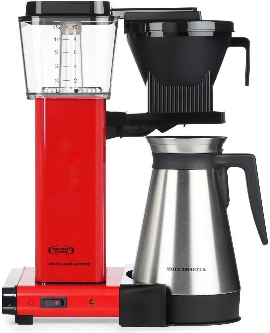 Moccamaster - Moccamaster KBGT 741 Filtre Kahve Makinesi Kırmızı