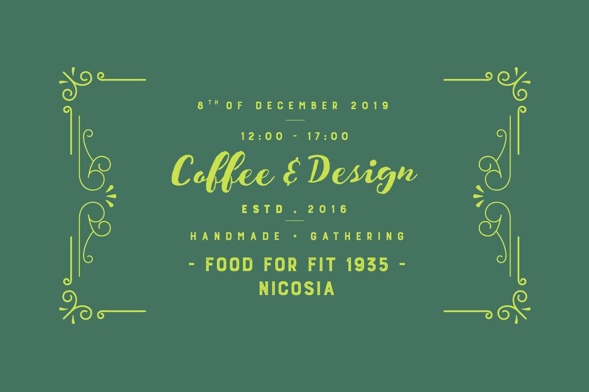 Lefkoşa'da Kahve ve Tasarım Ürünler Aynı Etkinlikte Buluşacak