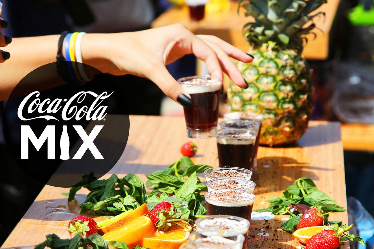 Kahve Festivali'nde Coca-Cola Mix Sürprizi