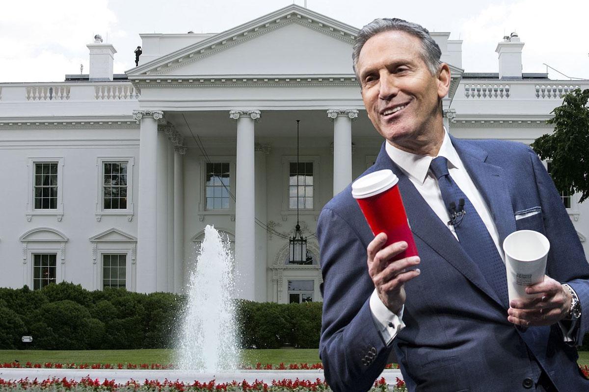 Starbucks Eski CEO'su ABD Başkanlık Yarışından Çekildi