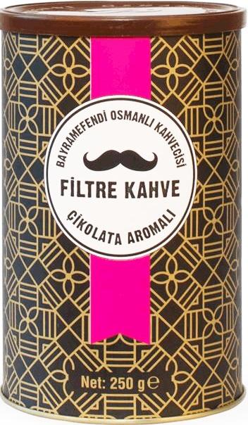 Bayramefendi Osmanlı Kahvecisi - Bayramefendi Osmanlı Kahvecisi Çikolatalı Filtre Kahve 250 G