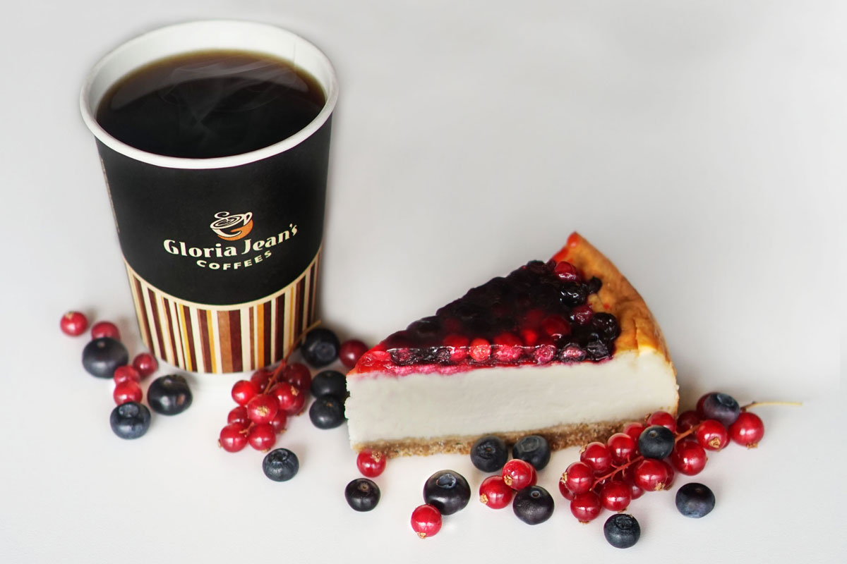 Gloria Jean's Coffees'den Dağ Meyveli Cheesecake
