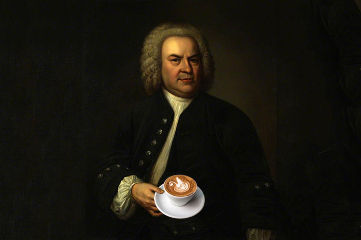 Bach Kahve Operası Yazmış