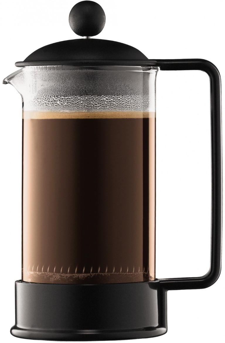 Bodum - Bodum Brazil 3 Cup Siyah French Press