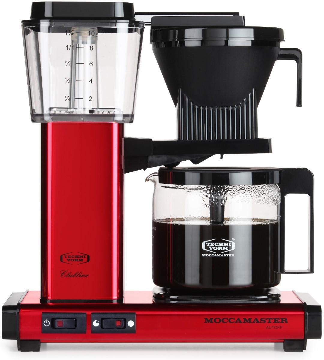 Moccamaster - Moccamaster KBG 741 AO Filtre Kahve Makinesi Red Metallic
