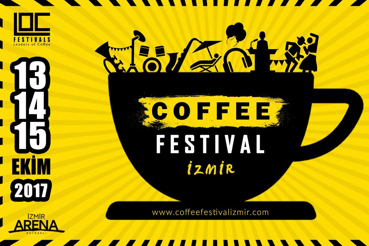 İzmir Kahve Festivali Ekim'de; Biletleri Satışta!