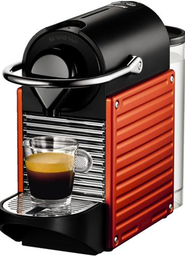 Nespresso - Nespresso Pixie Kırmızı Kapsüllü Kahve Makinesi