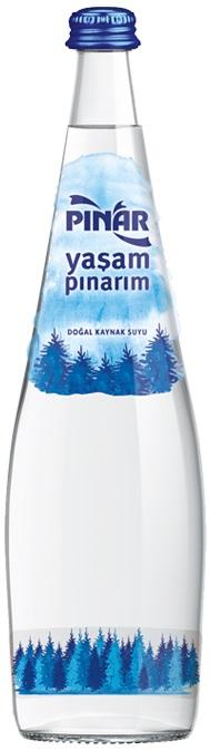 Pınar Su - Pınar Cam Şişe Su 0.33 L
