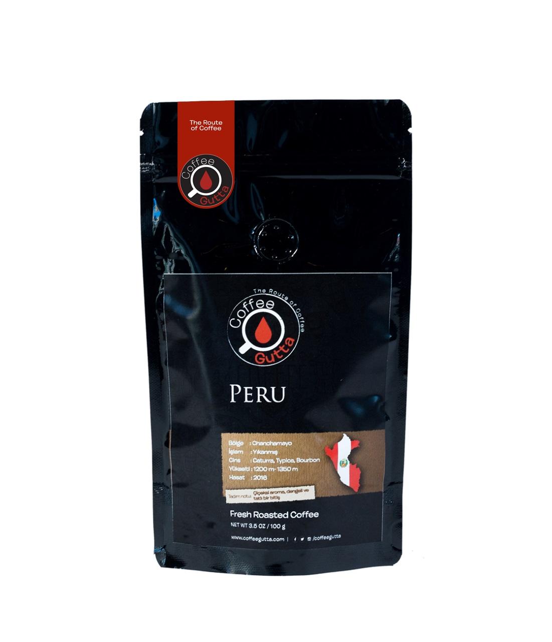 Coffee Gutta Peru Chanchamayo Kahve 100 G