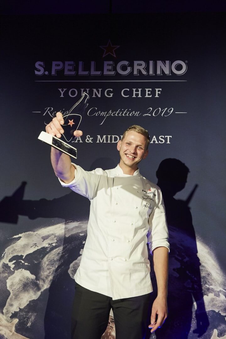 S.Pellegrino Young Chef Afrika & Orta Doğu Bölge Finali Birincisi Paul Thinus Prinsloo (Large)